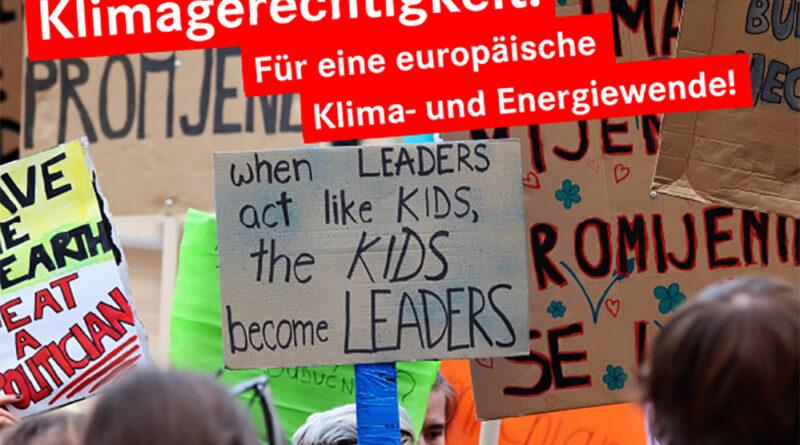 Klimagerechtigkeit in Europa!