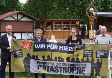 Conni Möhring ist dabei: Solidarität mit den Kolleg:innen von Caterpillar