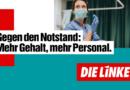 Das will DIE LINKE: Pflegenotstand stoppen!